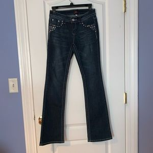 Bebe Diamond Dark Wash Jeans